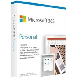 Microsoft 365 personal - word - excel - powerpoint - outlook - 1tb almacena QQ2-01006 - QQ2-01006