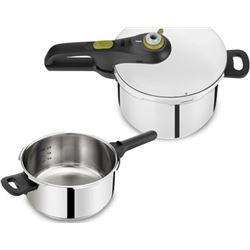 Tefal P2544337 olla a presion secure 5 neo set 4 + 6l - 3045384362785