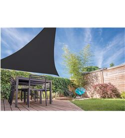 Ambiance toldo vela triangulo color gris oscuro 5x5x5mts 8719202893410 - 73031