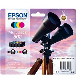 Epson C13T02V64020 multipack tintas 502 4 colores Consumibles - C13T02V64020